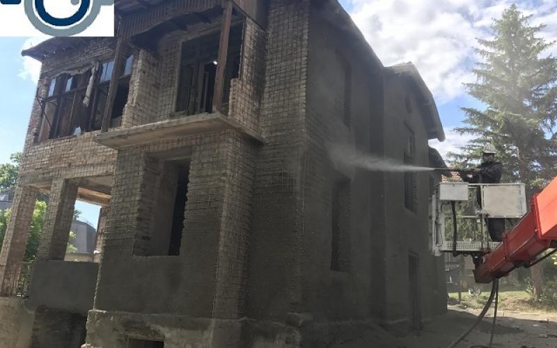 24.торкрет бетон на стара сграда