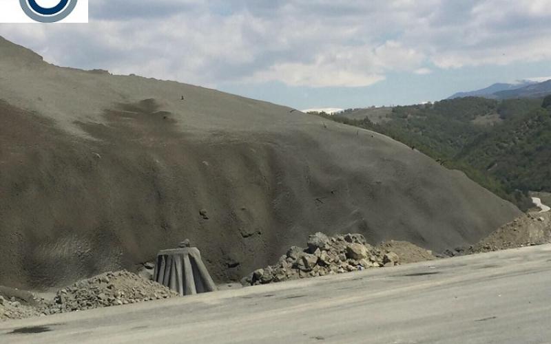 4. пръскан бетон на АМ Струма